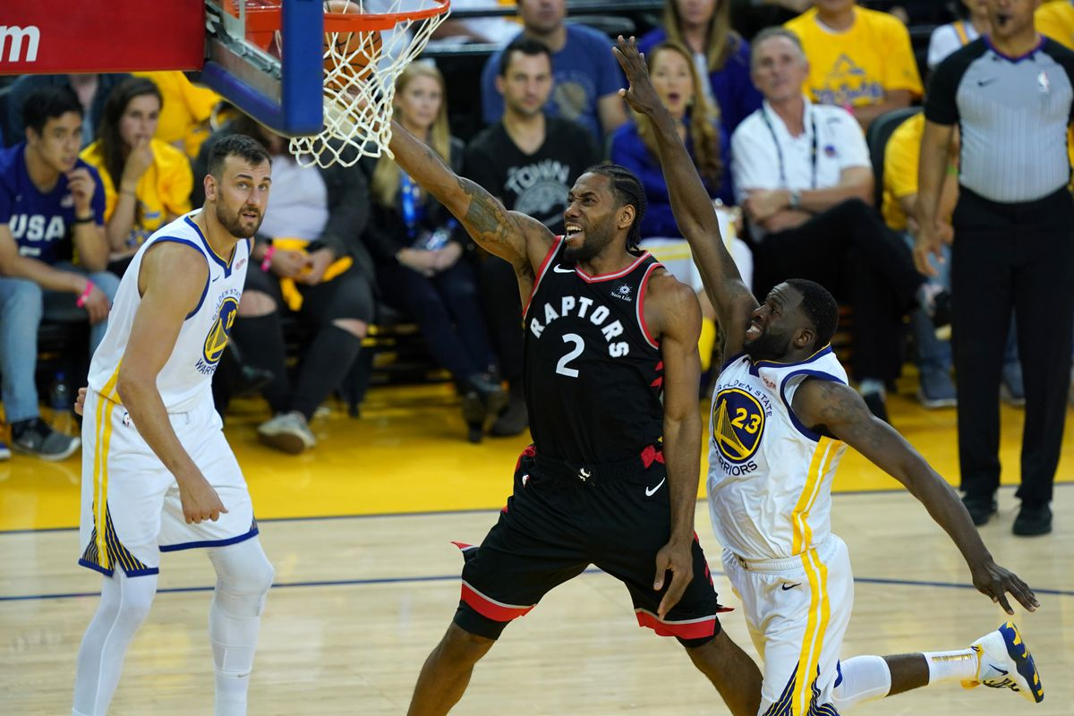 Kawhi Leonard scored 30 points in the Raptors' Game 3 victory in the NBA Finals.