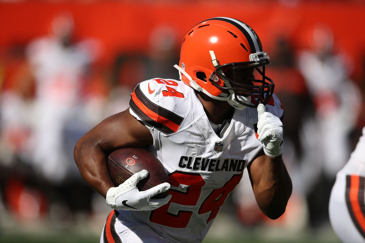 Nick Chubb should be the feature back in the Cleveland Browns' explosive offense in 2019.