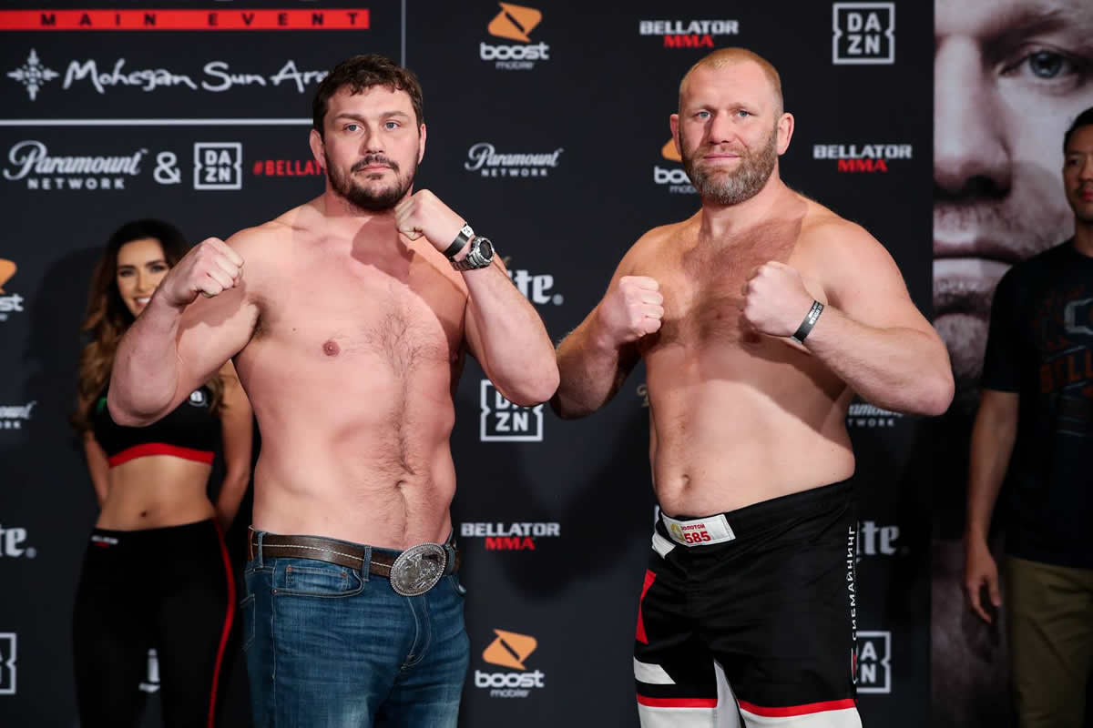 Matt Mitrione and Sergei Kharitonov Bellator 225