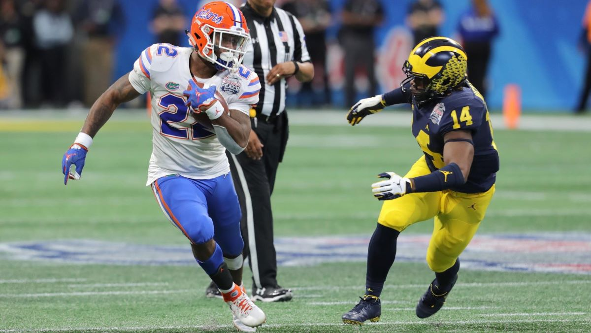 Lamical Perine and the Florida Gators will look to get off to a fast start in 2019.