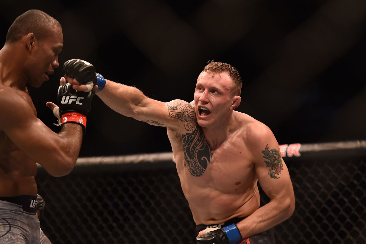 Jack Hermansson will square off with Jared Cannonier in a middleweight bout in Copenhagen, Denmark, on Saturday.