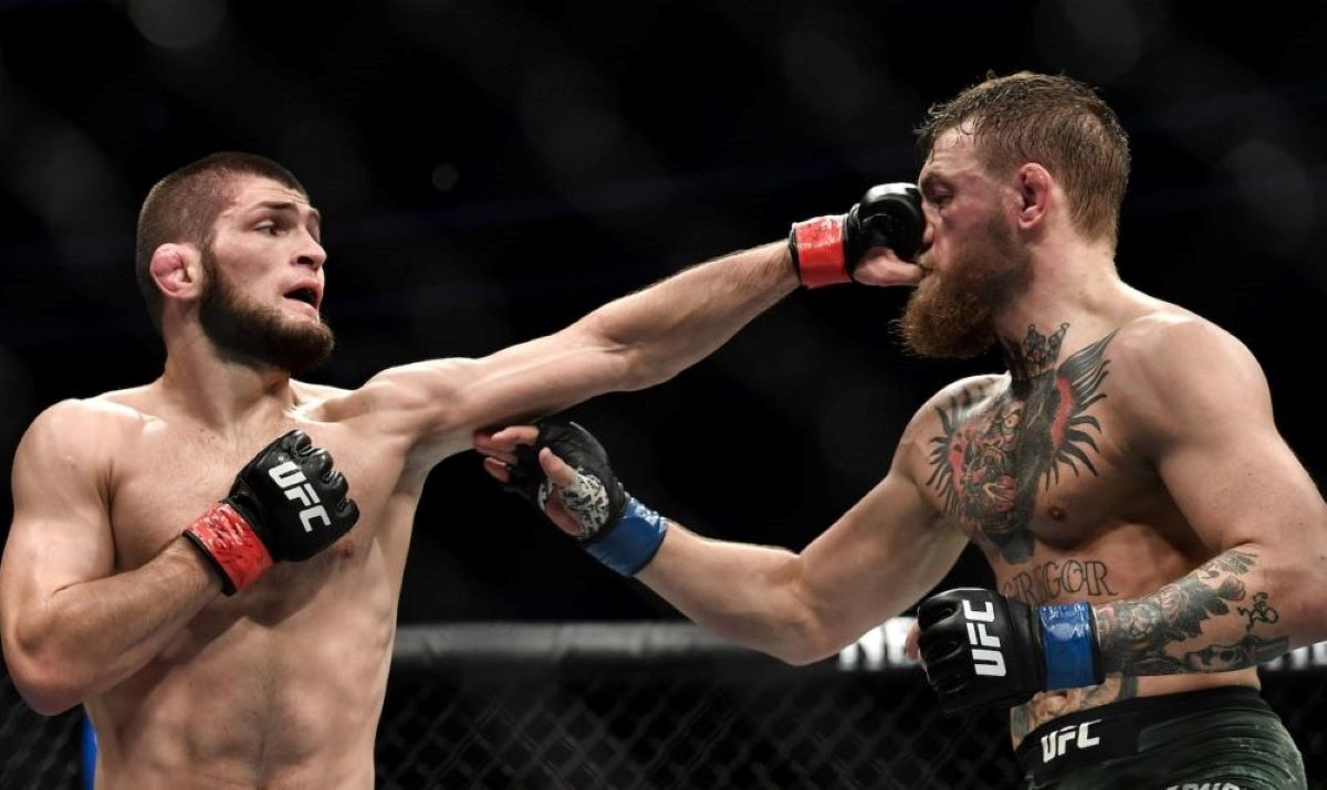 Khabib Nurmagomedov will take on Dustin Poirier in the main event of UFC 242 on Saturday.
