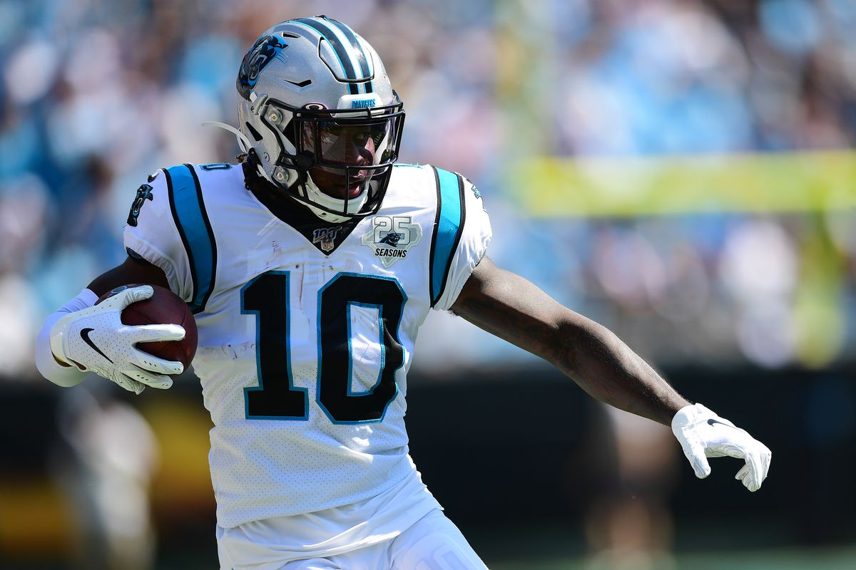 Carolina's Curtis Samuel could actually benefit if the Panthers are forced to make a change at quarterback.