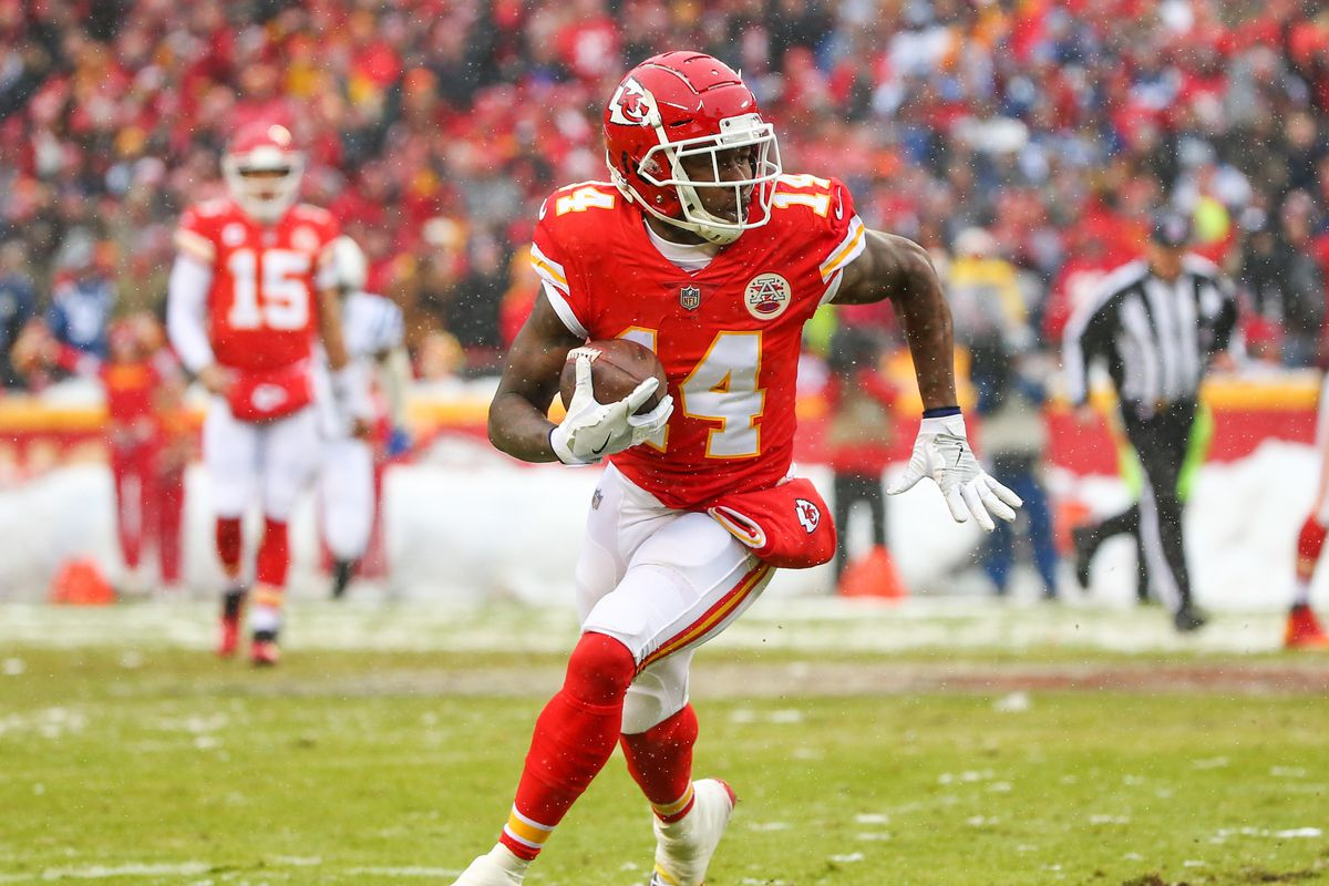 Sammy Watkins could become Patrick Mahomes' favorite target, which will lead to lots of receptions against the Raiders this week.