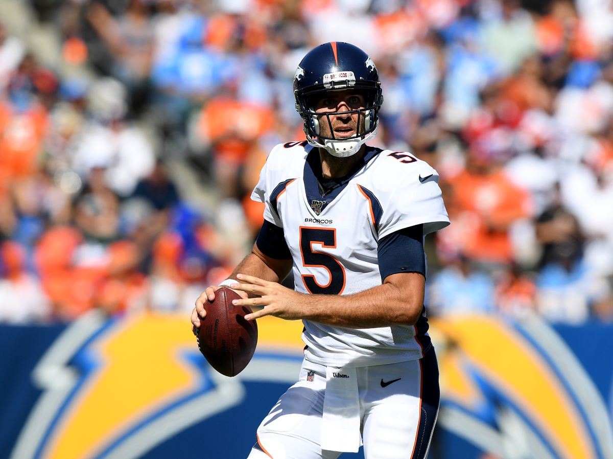 Joe Flacco and the Denver Broncos may see themselves needing to pass more often to keep up with Kansas City Thursday.