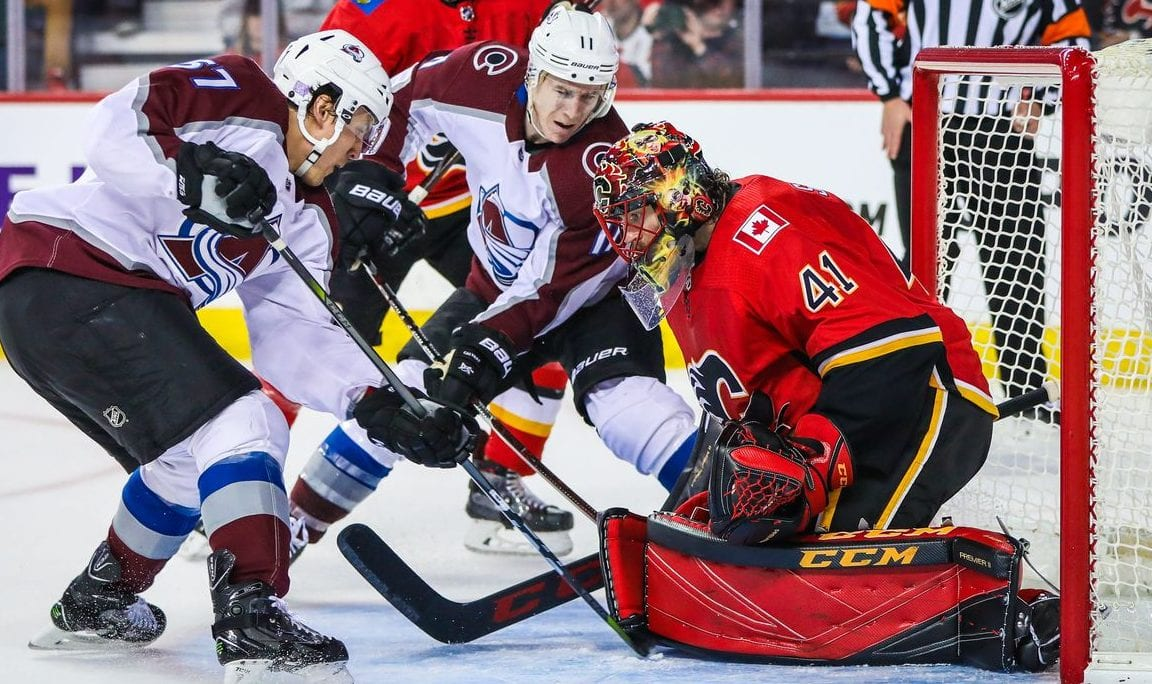 The Colorado Avalanche will look to repeat their success against the Calgary Flames like they had in the 2019 playoffs in Thursday's season opener.
