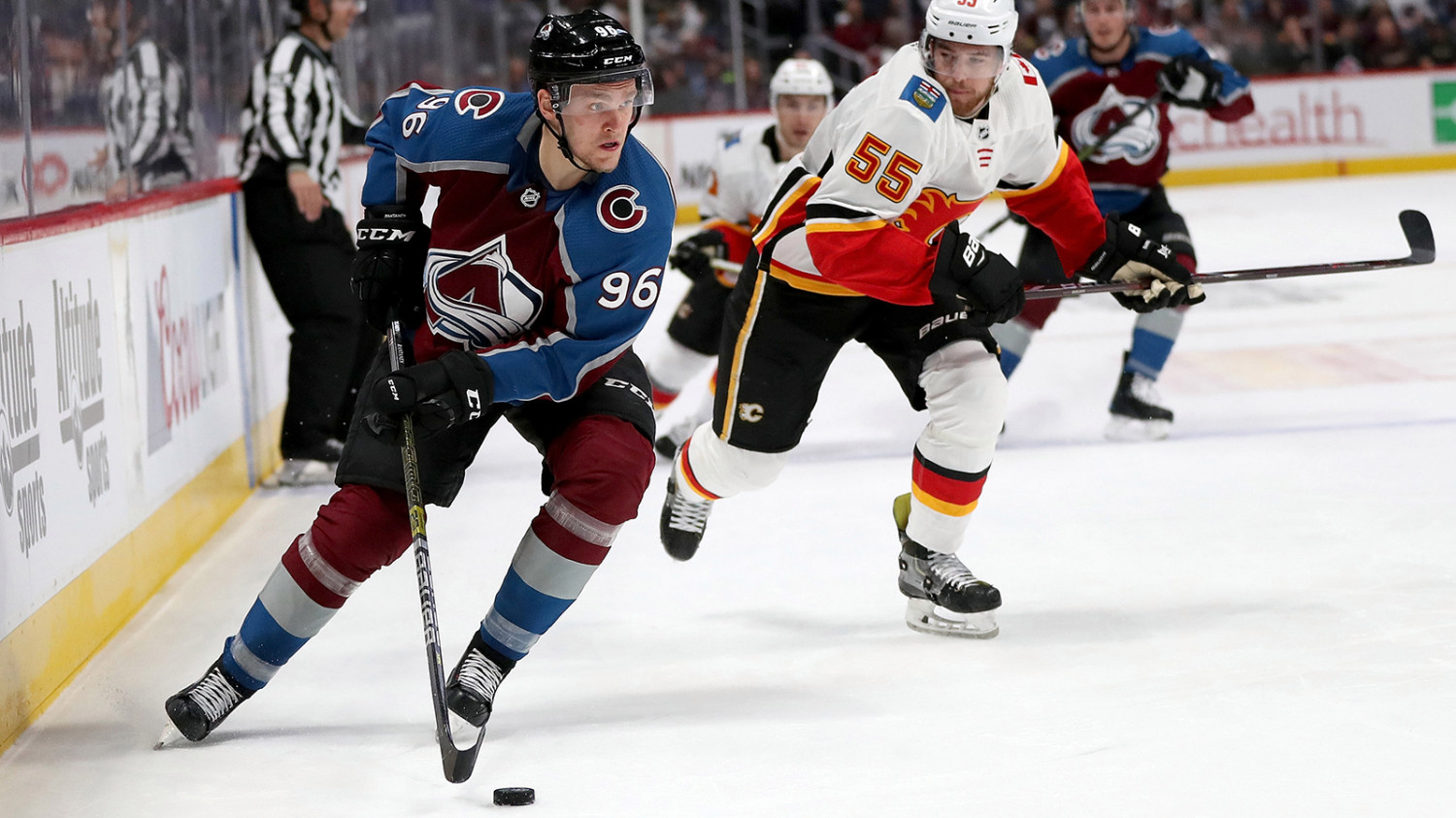 Mikko Rantanen leads the Colorado Avalanche in scoring through six games this season.