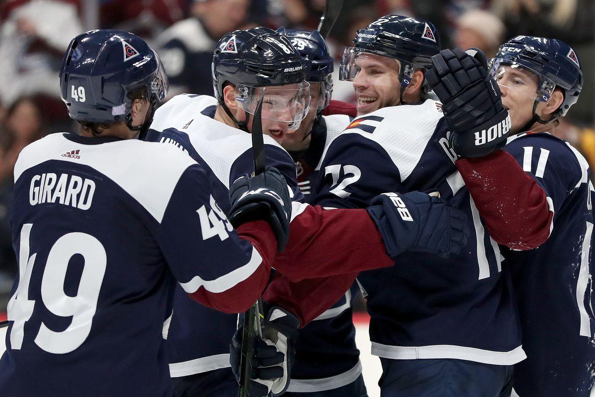 Avalanche are in Edmonton on Thursday night.