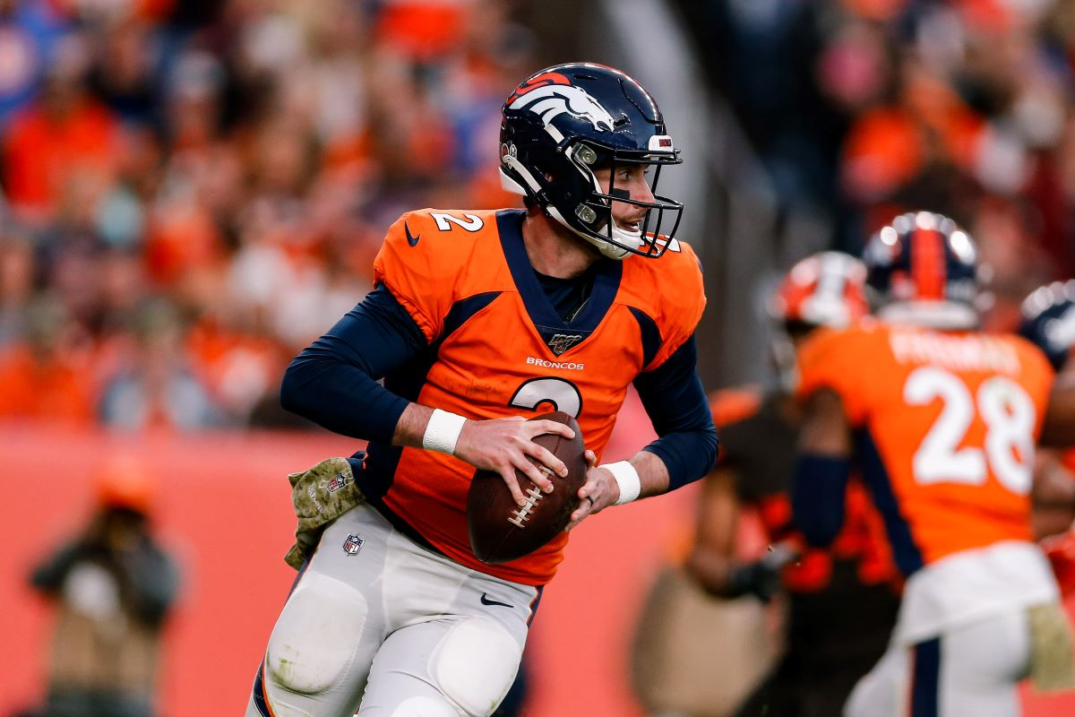 Brandon Allen will be the Broncos' starting quarterback for the immediate future after winning his first career start Sunday.