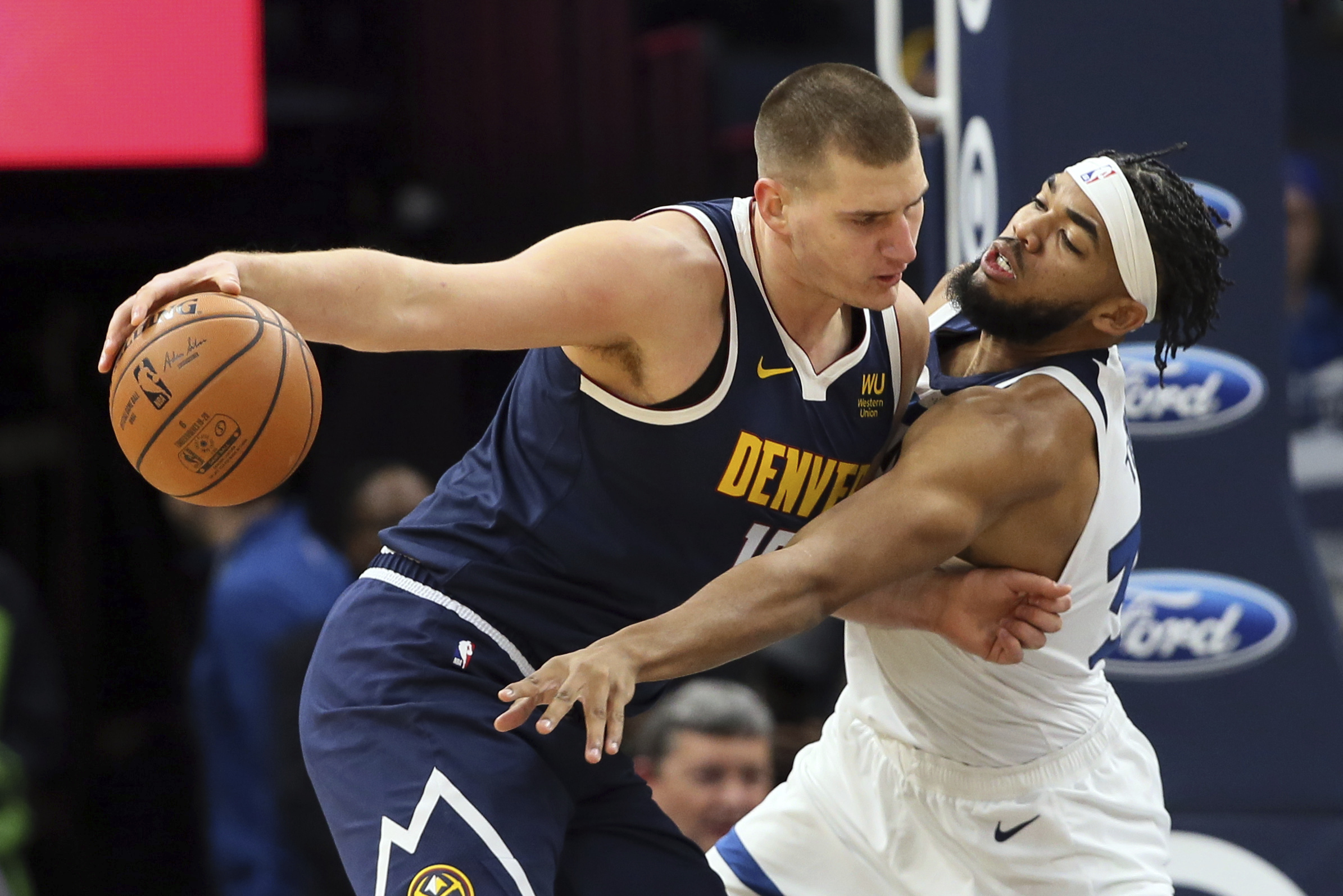 Nikola Jokic has been coming through in the clutch for the Denver Nuggets, who lead the Northwest Division.
