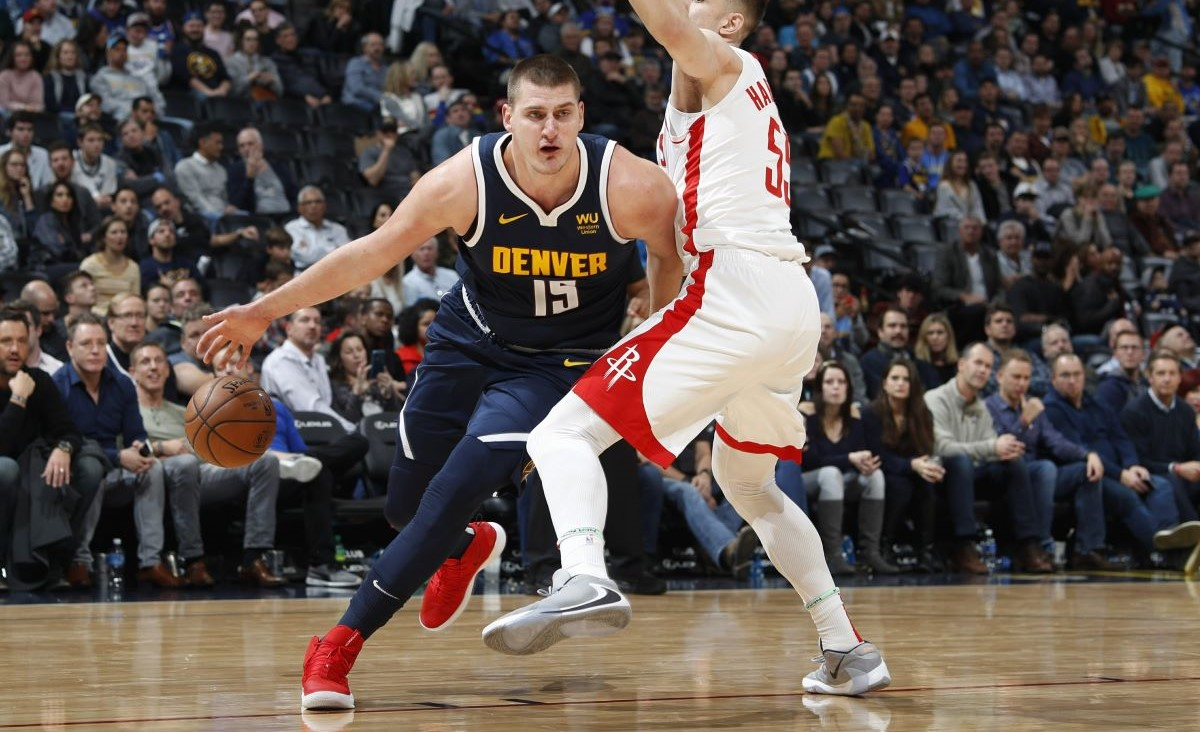 Nikola Jokic and the Nuggets will try to shut down one of the top teams in the Eastern Conference, the Boston Celtics, when they square off Friday night.