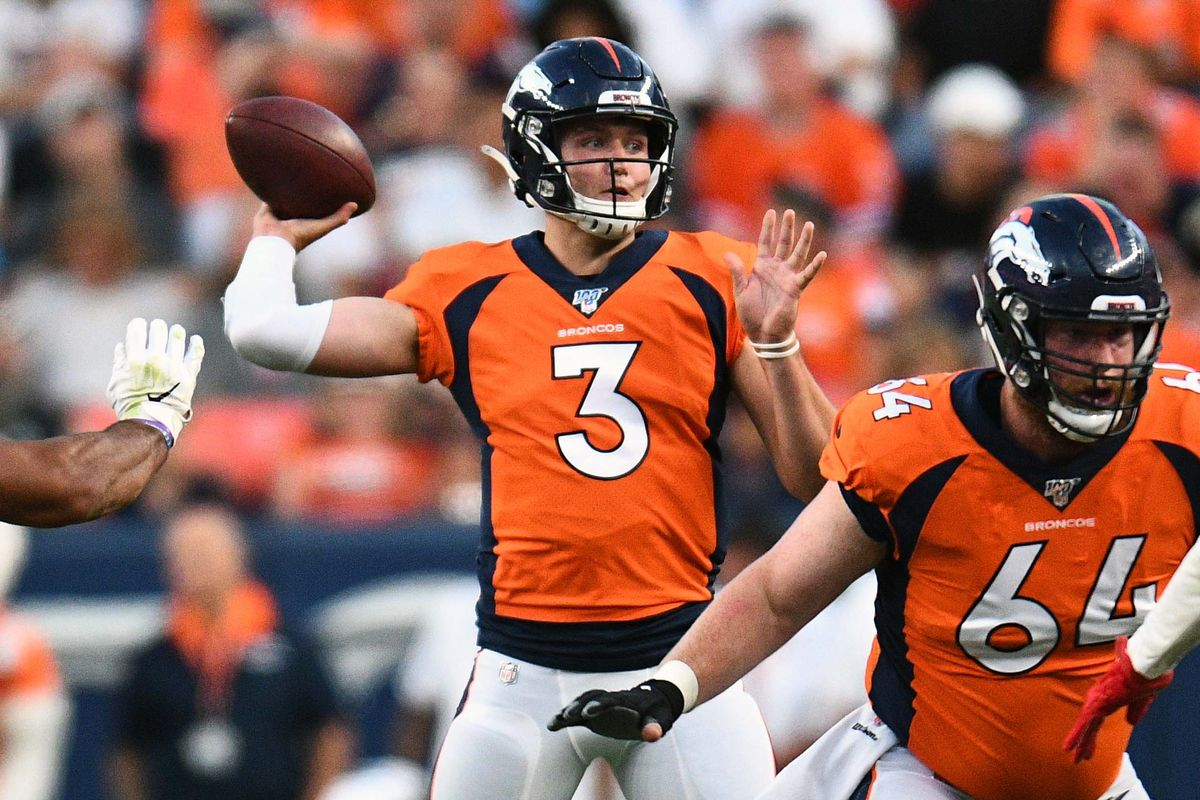 It's looking like rookie Drew Lock will be getting the start at quarterback when the Broncos host the Los Angeles Chargers on Sunday.