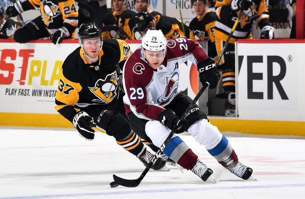 Nathan MacKinnon and the Colorado Avalanche try to get back in the win column when they host the Dallas Stars on Friday night.