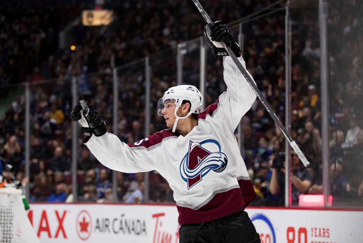 Andre Burakovsky and the Colorado Avalanche will go for their fifth win in six games when they face Calgary Tuesday night.
