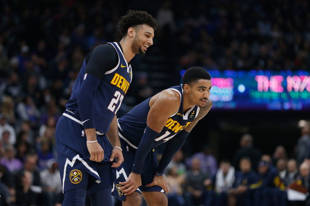 The Denver Nuggets will need good shooting from Jamal Murray and Gary Harris when they play Oklahoma City Friday.